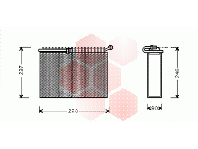 Izparilnik ALFA ROMEO 166 98-