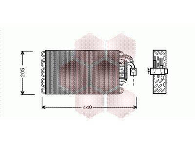 Izparilnik BMW 5 E34 87-94