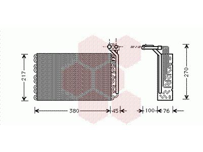 Izparilnik Citroen Evasion 94-00