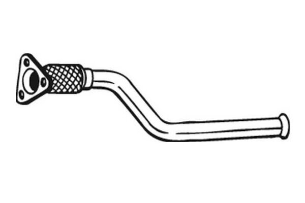 Izpuh Opel Vivaro 01-06, cev