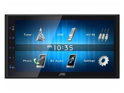 JVC Autoradio KW-M24BT, ekran na dotik, glasovni nadzor