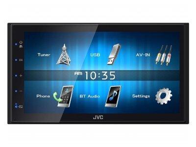 JVC Autoradio KW-M24BT, zaslon na dotik, glasovni nadzor