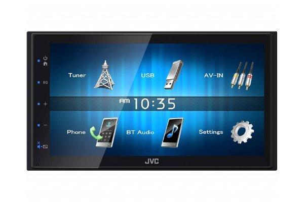 JVC avtoradio KW-M24BT, zaslon na dotik, glasovni nadzor