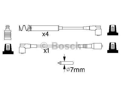 Kablovi za paljenje Opel Combo 93-00