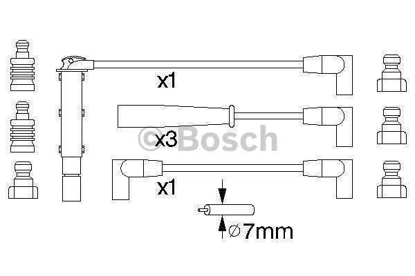 Kablovi za paljenje Renault Safrane 92-00