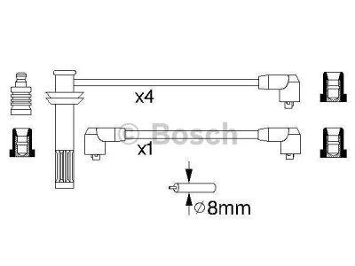 Kablovi za svjećice Fiat Coupe 93-00