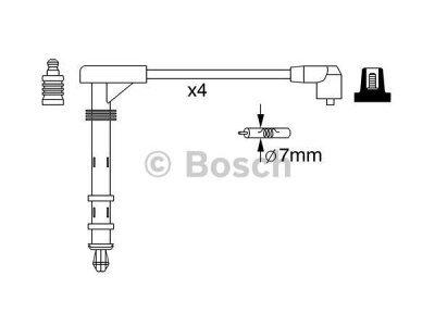 Kablovi za svjećice Fiat Multipla 99-