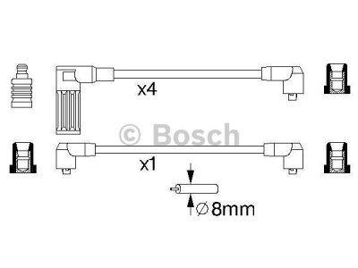 Kablovi za svjećice Fiat Tipo 88-96