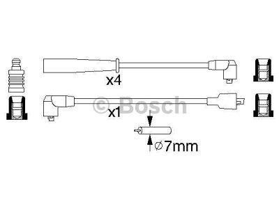Kablovi za svjećice Nissan Navara 98-05