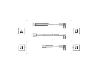 Kablovi za svjećice Opel Corsa A 83-93