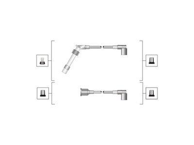 Kablovi za svjećice Opel Corsa B 93-00, MSQ0027