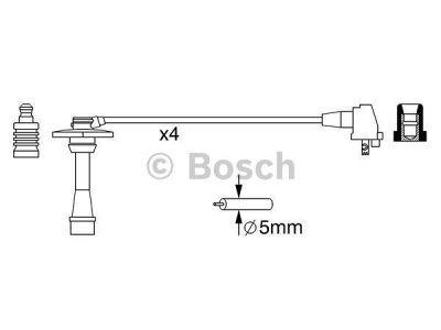 Kablovi za svjećice Toyota Corolla 97-02