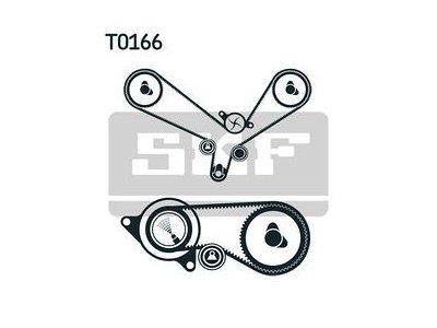 Kit zobatega jermena 49389 - Audi, VW