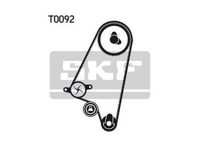 Kit zobatega jermena 49427 - Chevrolet, Daewoo, Opel