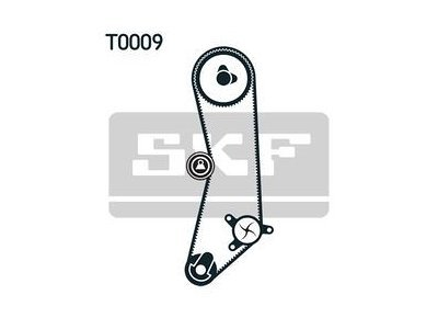 Kit zobatega jermena 50273 - Fiat, Lancia
