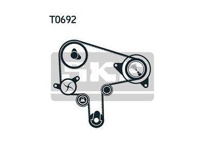 Kit zobatega jermena 64974 - Mazda