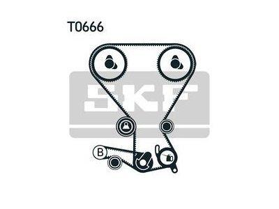 Kit zobatega jermena 86947 - Hyundai