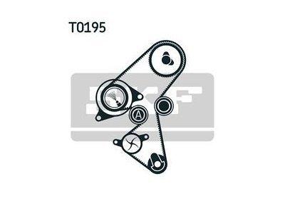 Kit zobatega jermena 86974 - Citroen