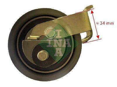 Kit zobatega jermena (napenjalec) 531039920 - Audi TT 98-06