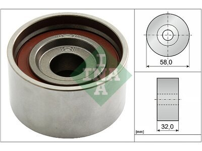 Kit zobatega jermena (napenjalec) 531058210 - Hyundai Accent 00-06