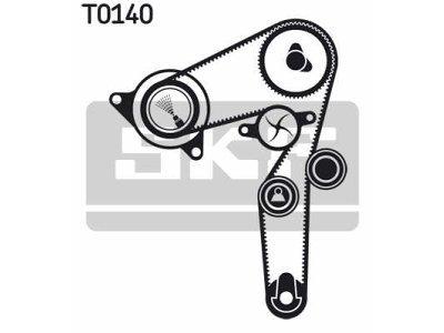 Kit zobatega jermena VKMC02176 - Fiat Strada 98-