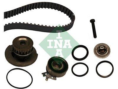 Kit zobatega jermena (+ vodna črpalka) 530000430 - Opel Corsa 83-00