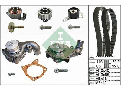 Kit zobatega jermena (+ vodna črpalka) 530010431 - Mazda 121 96-02