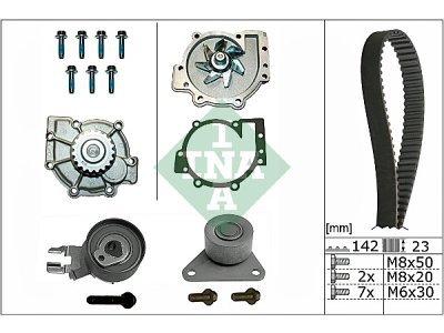 Kit zobatega jermena (+ vodna črpalka) 530046730 - Ford S-Max 06-15