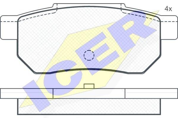 Klešta zadnje kočnice S78-1001 - Škoda Yeti 09-