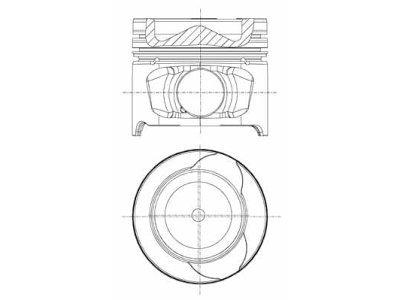 Klip - Renault Clio 05-; 76 mm