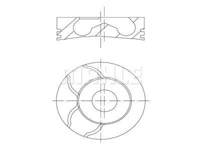 Klip - Renault Megane 02-; 80,01 mm