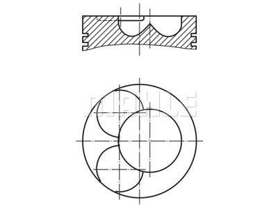 Klip - Seat Leon 05-12; 81,01 mm