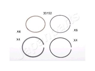 Klipni prsten Mazda 121 85-96