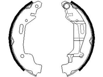 Kočiona čeljust 164052  - Opel