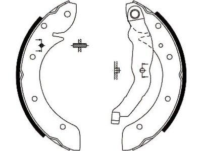 Kočiona čeljust S72-1033 - Renault