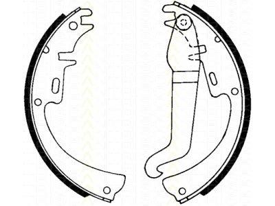 Kočiona čeljust S72-1037 - Opel
