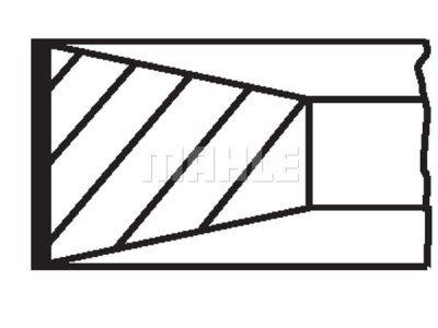 Komplet batnih obročkov 03999N1 - Citroen, Fiat, Ford, Lancia