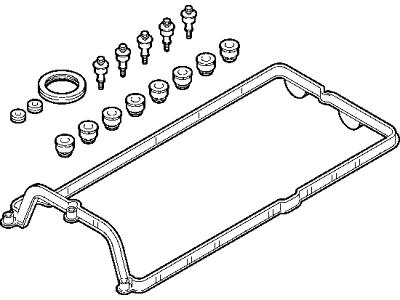 Komplet brtvila poklopca ventila BMW X5 00-13