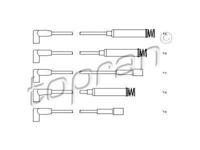 Komplet kablova za paljenje Opel Kadett E 84-91