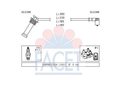 Komplet kablova za paljenje svečica Ford Focus 98-12