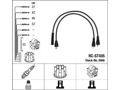 Komplet kablova za paljenje svečica Opel Manta B 75-88