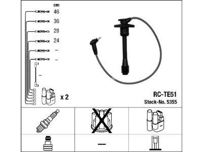 Komplet kablova za paljenje svećica Toyota Corolla 97-02