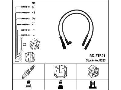Komplet kablova za paljenje svječica za Fiat Panda 80-03