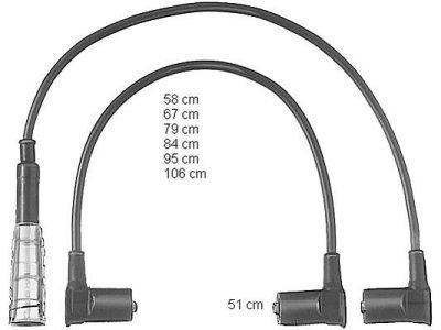 Komplet kablova za paljenje svječica za Mercedes-Benz Razred S 81-91