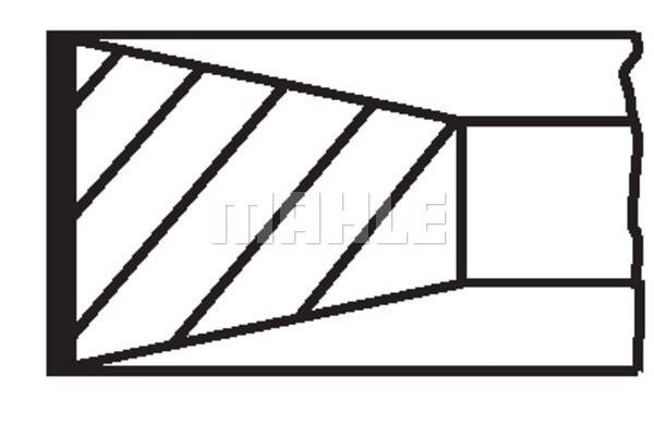 Komplet Klipnih prstena 03999N1 - Citroen, Fiat, Ford, Lancia