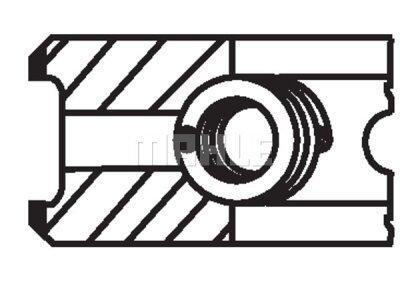 Komplet klipnih prstenova 001RS001110N0 - Jeep, Mercedes-Benz