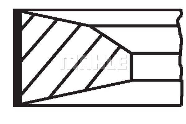 Komplet klipnih prstenova 001RS111160N0 - Mercedes-Benz