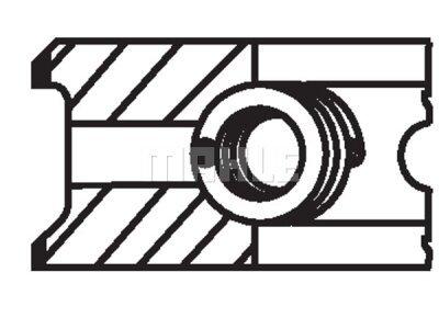 Komplet klipnih prstenova 00865N0 - Fiat, Lancia