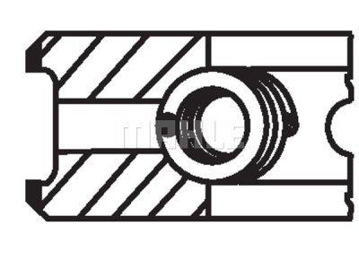 Komplet klipnih prstenova 02816N0 - Audi, Volkswagen