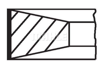 Komplet klipnih prstenova 03999N1 - Citroen, Fiat, Ford, Lancia